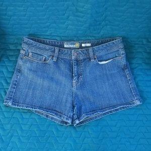 Low Waist Jean Shorts